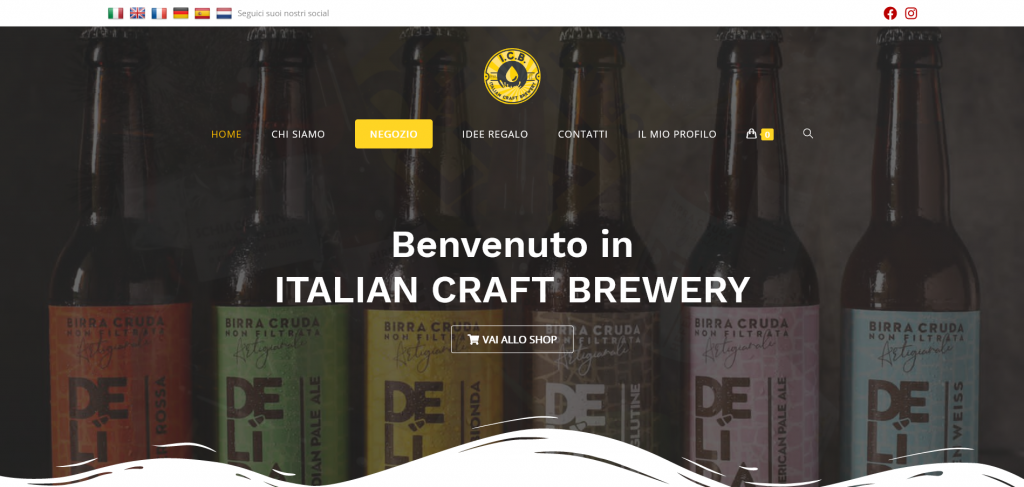 Italian Craft Brewery Store